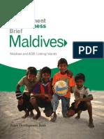 Maldives and ADB