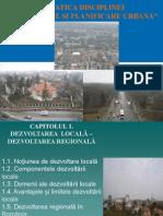 Curs 1 Tematica Dezv. Si Planificare Urbana 2011-2012