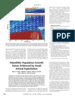 Stiner Et Al. Crecimiento Poblacional a Partir de Analisi de Dieta Fauna