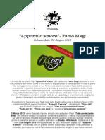 Fabio Magi Press Kit - Blob Agency