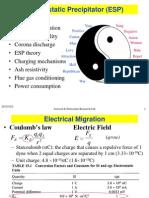 Electrostatic Precipators (ESP)