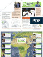 Self Help Africa-Introductory Newsletter