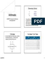 Number Arithmetic p2