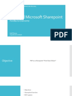 PDF and Microsoft SharePoint - Hurdles to Overcome
