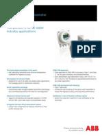 ABB WaterMaster Datasheet