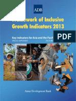 Framework of Inclusive Growth Indicators 2013
