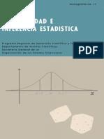 Probabilidad e Inferencia Estadistica