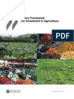 Policy Framework for Investment in Agriculture