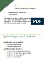 supravegherea epidemiologica