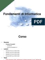 1_introduzione di Fondamenti di Informatica