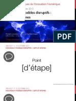 Séance 7 // Nouveaux modèles disruptifs (2/3)