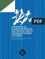 Asistentencia a reintegrácia detských obetí obchodovania s ľuďmi - Člověk v tísni Slovensko