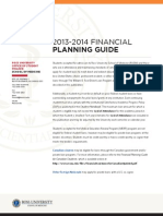 Financial Planning Guide, School of Medicine, Ross University, 2013-2014