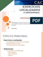 Exercícios Localizados