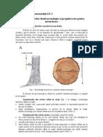 PALEOGRAFIA CUATERNARULUI LP.2 Prelevarea probelor dendrocronologice şi pregătirea lor pentru măsurătoare