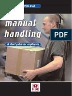 HSE Manual Handling