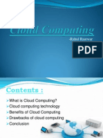 106041211 Cloud Computing PPT by Rahul