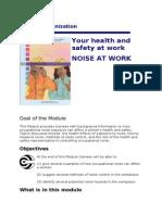 ILO Noise at Work