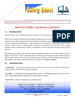 CJA Marine Loss Prevention MSQ April 2009- Hatcovers - Leakage and Testing