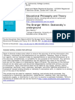 The Stranger Within. Dostoevsky's underground