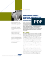 Enterprise Service-Oriented Architecture for Healthcare - Solution Brief (US Letter)