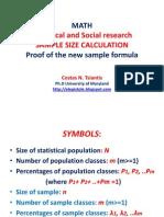 The Athenian Sample Size Formula