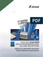 Catálogo Bohler pulvimetalúrgicos