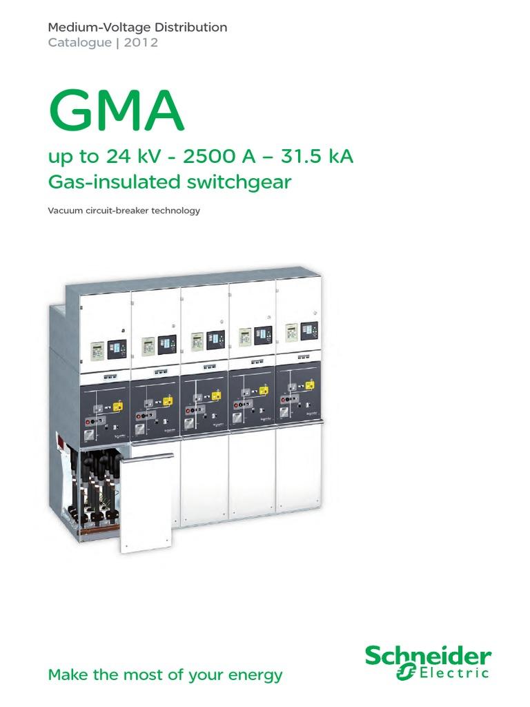 Gma Catalogue 2012 Enpdf High Voltage Transformer 24kv Vacuum Circuit Breaker