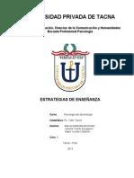 CLASIFICACIÓN Y FUNCIONES EN LAS ESTRATEGIAS DE ENSEÑANZA (1)