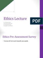 Computing Ethics Module