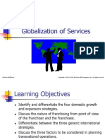 Globalization of Services