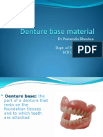 Denture Base Material