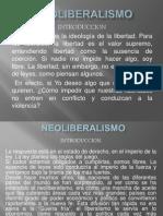 NEOLIBERALISMO diapositivas