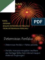 k3 Determinan Perilaku (New)