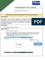 ORIENTAÇÕES  PRÉVIAS _PREPARANDO OFICINA DE BLOG