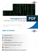Debugging for Fuco s Training