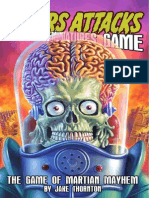 Mars Attacks Playtest Rules