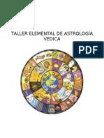 Taller Elemental de Astrologia Vedica