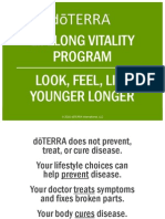 Dōterra Lifelong Vitality Pack Powerpoint Antioxidant Omega 3