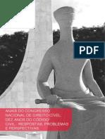 Anais do Congresso Brasileiro de Direito Civil - Dez Anos do Código Civil