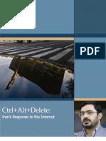 Ctr+Alt+Delete - Iran's Response to the Internet