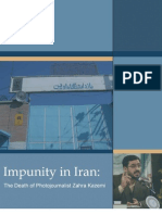 Impunity in Iran