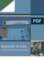 Impunity in Iran