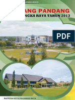 Selayang Pandang Kota Palangka Raya 2013 (Indonesiaprogresif