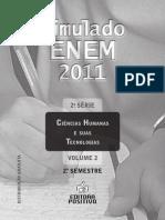 2a Serie Caderno Ciencias Humanas