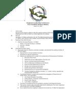 2005-03-15 Area Coordinator Minutes