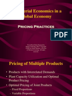 Pricing Practices