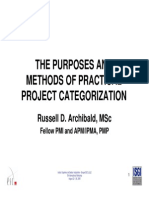 Purposes and Methods of Practical Aug 2005