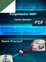 Fragilidades-WEP