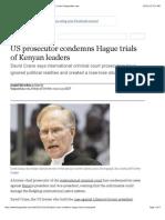 US prosecutor condemns Hague trials of Kenyan leaders | Law | theguardian.com.pdf